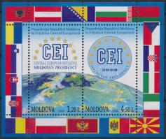 2008 Moldovai elnökség blokk Mi 43