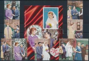 1998 Szeretlek Lucy tv-sorozat sor Mi 1996-2004