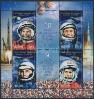 2011 űrutazás blokk Mi 54