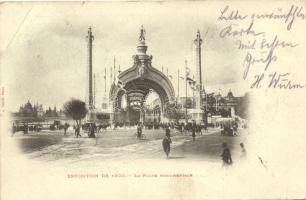 1900 Paris, Exposition, La Porte Monumentale / gate, exhibition