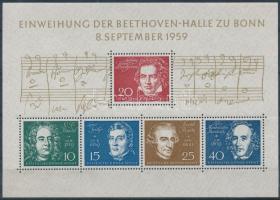 1959 Zeneszerzők blokk Mi 2