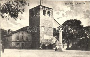 Trieste, S. Giusto / church