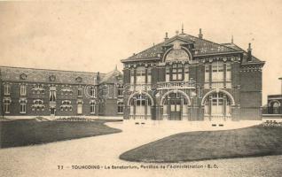 Tourcoing, Le Sanatorium, Pavilion de l'Administration / Sanatorium, Administration building
