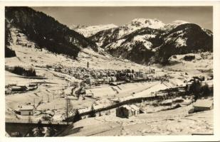 Airolo, general view in winter