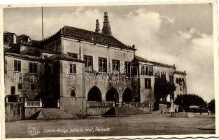 Sintra, Cintra; Palacio real, fachada / palace, facade
