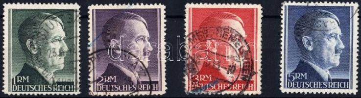 1942 Hitler sor Mi 799-802 A