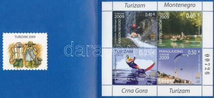 2009 Turizmus bélyegfüzet MH 6 (Mi 210-213)