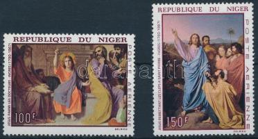 1967 Festmények sor Mi 170-171