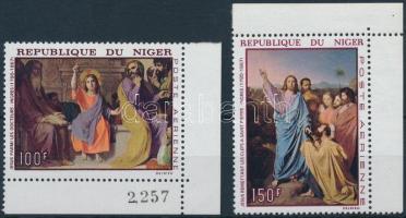 1967 Festmények ívsarki sor Mi 170-171