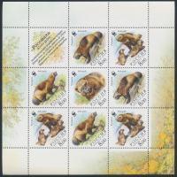 2004 WWF Rozsomák kisív Mi 1198-1201 (kisív sarkán kis törés)