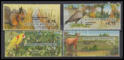 National parks; animal set, Nemzeti parkok; Állat sor