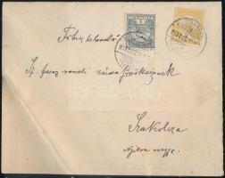 1913 Gyárjelentés Turul 1f + 2f bérmentesítéssel KISMARATON - SZAKOLCZA