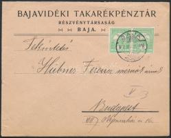 1912 Banklevél BAJA - Budapest