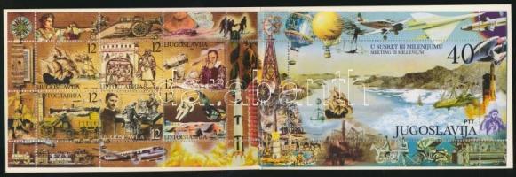 Millennium stamp booklet, Az ezredforduló bélyegfüzet