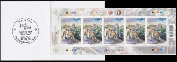 2015 Europa CEPT, Történelmi játékok bélyegfüzet MH 0-17 (Mi 1903-1904)