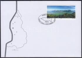 Landscapes FDC, Tájkép FDC