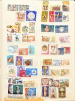 Europa CEPT gyűjtemény 1956-2006 4 db A/4 berakóban + berakólapokon / Europa CEPT collection 1956-2006 in 4 A/4 stockbooks + on stockcards, in a box