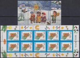 2008 Karácsony motívum kisív Mi 638+1 db blokk Mi 44