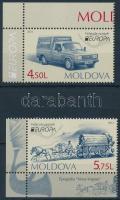 2013 Europa CEPT, Postai járművek ívsarki sor Mi 829-830