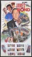 2008 Ian Fleming: James Bond sor Mi 2599-2604 szigoruan titkos díszcsomagolásban