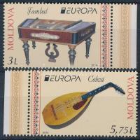 2014 Europa CEPT, Népi hangszerek ívszéli sor Mi 863-864