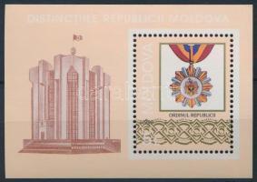 1999 Érmek és kitüntetések blokk Mi 19