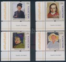 2012 Gyermek festmények ívsarki sor Mi 783-786