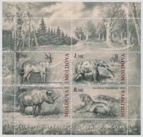 2010 Őskori állatok blokk Mi 51