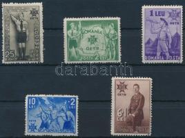 1935 Cserkész sor Mi 484-488