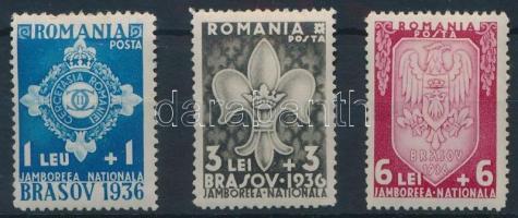 1936 Cserkész sor Mi 516-518