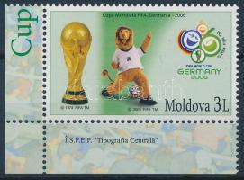 2006 Labdarúgó világbajnokság ívsarki bélyeg Mi 553