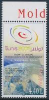 2005 Világcsúcs találkozó ívszéli bélyeg Mi 520