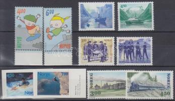1996-2001 5 sets, 1996-2001 5 db klf sor, közte ívszéli és öntapadós