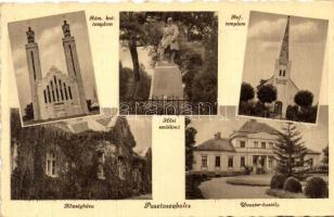 Pusztaszabolcs, Hősi emlékmű, Wooster-kastély