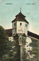 Komárom, Komarno; Kőszűz a várban / fortress view (Rb)