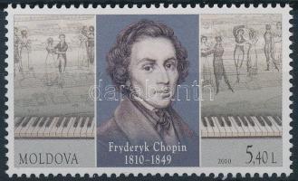 2010 Fryderyk Chopin fogazott bélyeg Mi 693