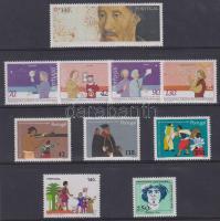 1991-1994  Portuguese Post 7 individual values + 3 sets, 1991-1994 Portugál Posta összeállítása Felfedezések témában bontatlan csomagolásban: 7 klf önálló érték + 3 klf sor