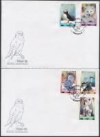 International Stamp Exhibition, Bangkok set 2 FDC, Nemzetközi bélyegkiállítás Bangkok sor 2 db FDC-n