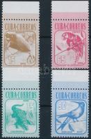 Fauna margin set, Állatvilág ívszéli sor
