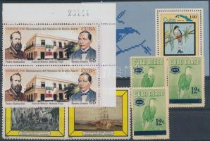 1959-2006 8 stamps + 2 blocks, 1959-2006 8 klf bélyeg közte sorok, ívsarki pár és 2 db blokk