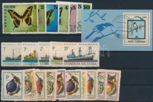 1963-1983 23 stamps and block, 1963-1983 23 klf bélyeg közte sorok és blokk