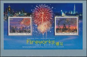 Fireworks block in decorative holder, Tűzijáték blokk díszcsomagolásban