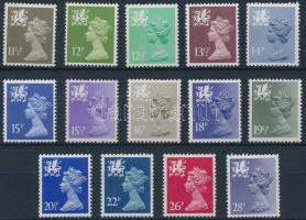 Wales 1980-1983 Regionális bélyegek Mi 28-41