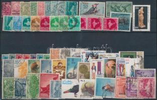 India, Pakisztán 60 db bélyeg