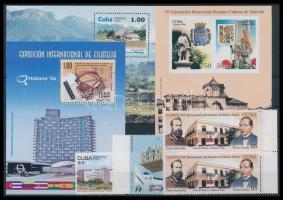 4 stamps + 3 blocks, 4 klf bélyeg közte ívszéli pár + 3 db blokk