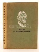Hekler Antal: Az újkor művészete, Bp., 1931-33, Magyar Könyvbarátok kiadása. Illusztrált, kiadói vászonkötésben. A címlapon ex libris.