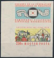 1959 FIP (II.) vágott ívsarki bélyeg (3.500)