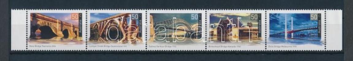 Bridge stripe of 5, Híd ívszéli ötöscsík