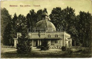 Daruvár, Daruvar; Központi fürdő / Kup. perivoj / spa park (Rb)
