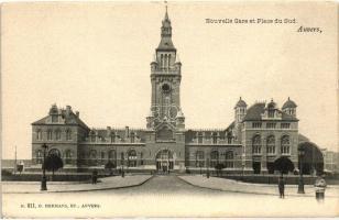 Antwerpen, Anvers; Nouvelle Gare et Place du Sud / railway station